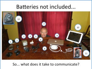 Batteries not included...